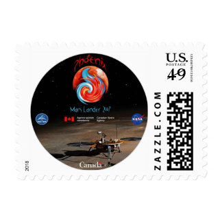 CSA and the Phoenix Lander Postage Stamp