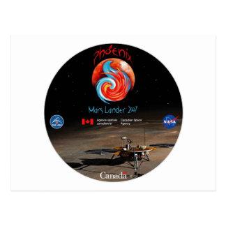 CSA and the Phoenix Lander Postcard
