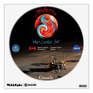 CSA and the Phoenix Lander Wall Decal