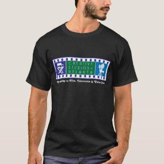 CSA Color Logo Black T-Shirt