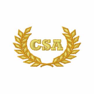 CSA con el laurel (bordado) Polo Bordado