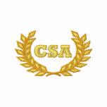 CSA con el laurel (bordado) Camiseta Polo