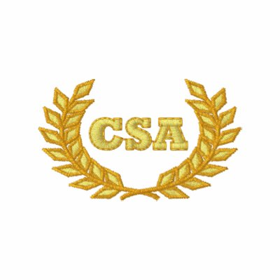 CSA con el laurel (bordado) Polo