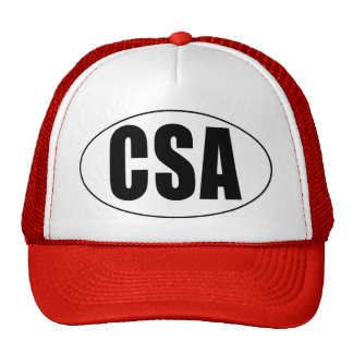 CSA Country Oval Trucker Hat