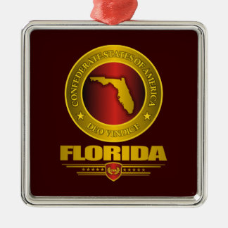 CSA Florida Metal Ornament