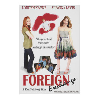CSA Foreign Exchange 27X40 Movie Poster