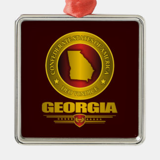 CSA Georgia Metal Ornament