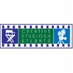 CSA Logo Keychain Acrylic Cut Outs
