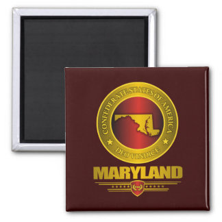 CSA Maryland 2 Inch Square Magnet