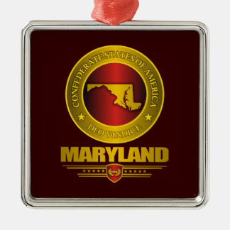 CSA Maryland Metal Ornament