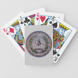 CSA SEAL BICYCLE PLAYING CARDS