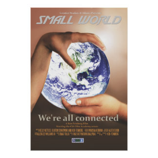 CSA Small World 27X40 Movie Poster