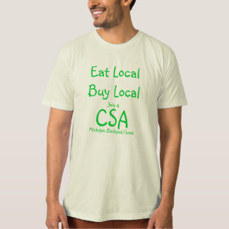 CSA T-Shirt Michigan Backyard Farms