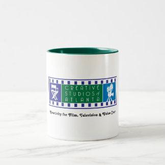 CSA Two-tone Mug with Color Logo