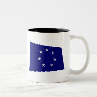 CSA Waving Navy Jack (1861-1863) Coffee Mug