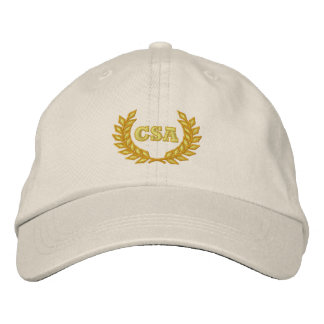 CSA with laurel (Embroidered) Embroidered Hats