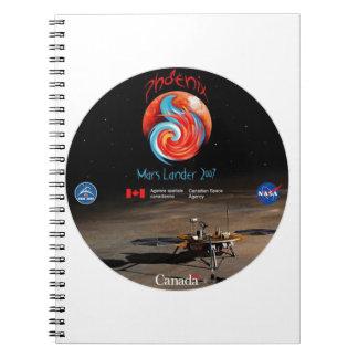 CSA y el Lander de Phoenix Libreta
