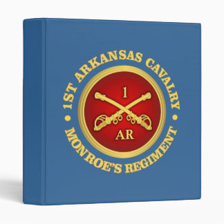 CSC -1st Arkansas Cavalry Binder