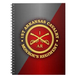 CSC -1st Arkansas Cavalry Notebook