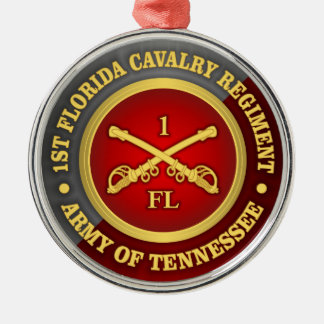 CSC -1st Florida Cavalry Metal Ornament
