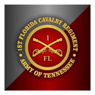 CSC -1st Florida Cavalry Poster