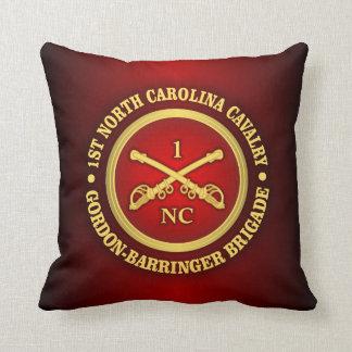 CSC -1st North Carolina Cavalry Throw Pillow