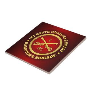 CSC -1st South Carolina Cavalry Ceramic Tile