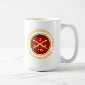 CSC -2nd Battalion Mississippi Cavalry Classic White Coffee Mug
