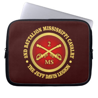 CSC -2nd Battalion Mississippi Cavalry Laptop Sleeve
