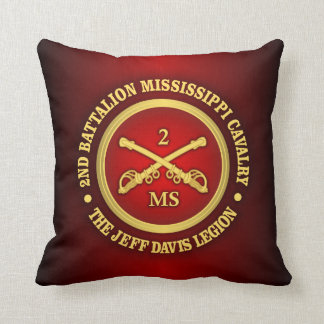 CSC -2nd Battalion Mississippi Cavalry Pillow