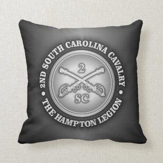 CSC -2nd South Carolina Cavalry Throw Pillow