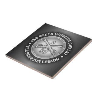 CSC -2nd South Carolina Cavalry Tile