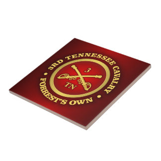 CSC -3rd Tennessee Cavalry Ceramic Tile