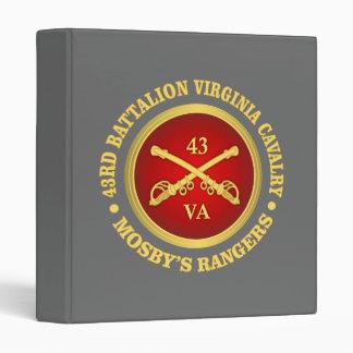 CSC -43rd Battalion Virginia Cavalry (Mosby) Binder