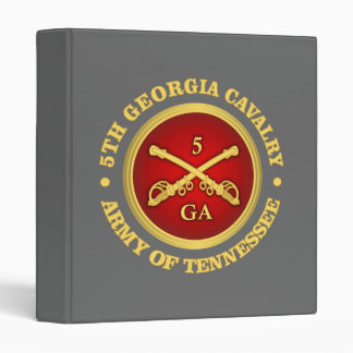 CSC -5th Georgia Cavalry Binder