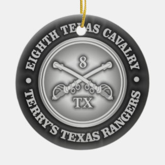 CSC -8th Texas Cavalry Ceramic Ornament