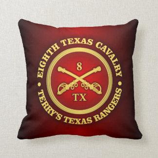 CSC -8th Texas Cavalry Throw Pillow