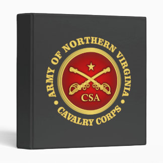 CSC -Army of Northern Virginia Cavalry Corps 3 Ring Binder