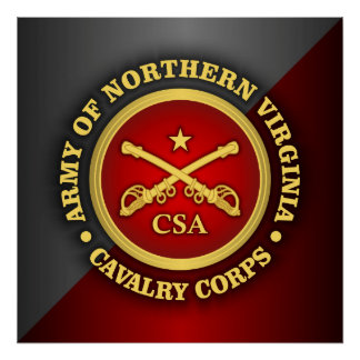 CSC -Army of Northern Virginia Cavalry Corps Poster