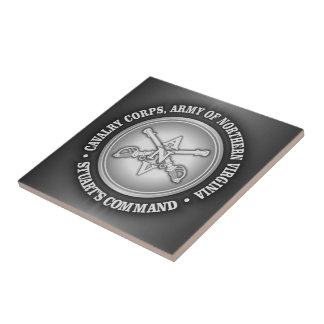 CSC -Cavalry Corps, Army of Northern Virginia Ceramic Tile