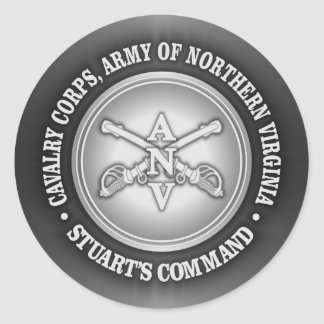 CSC -Cavalry Corps, Army of Northern Virginia Classic Round Sticker