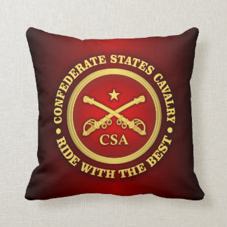 CSC -Confederate States Cavalry Pillow