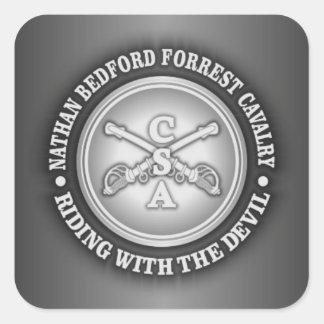 CSC - Forrest Pegatina Cuadradas