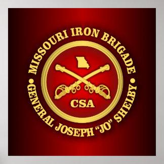 CSC -Missouri Iron Brigade Poster