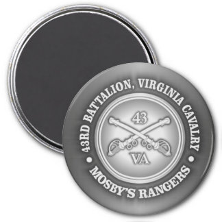CSC -Mosby's Rangers 3 Inch Round Magnet