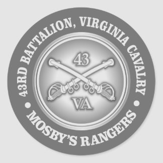 CSC -Mosby's Rangers Classic Round Sticker