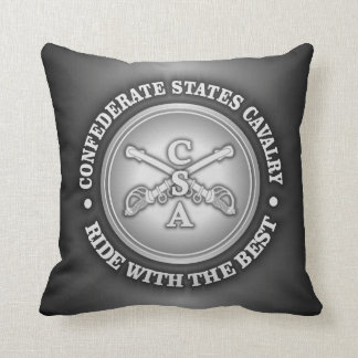 CSC -Ride With The Best Throw Pillow