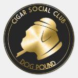 CSC Sticker Gold