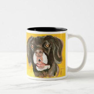 Cserhalmi's Spike Two-Tone Coffee Mug