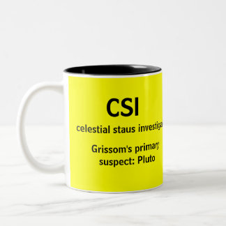 CSI - a GEEK TV mug